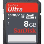 SanDisk Ultra Secure Digital Card (SDHC) CLASS 6 – 8GB