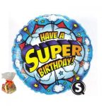 Have A Super Birthday Sweet Balloon