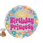 Birthday Princess Sweet Balloon
