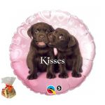 Puppy Kisses Sweet Balloon