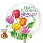 Happy Birthday Grandma Sweet Balloon