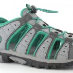Hi-Tec Shore Womens Sandals Cool Grey/Emerald