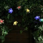 Solar Cherry Blossom Fairy Lights, 50 Multi Colour LEDs, 5m