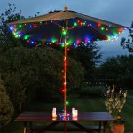 Solar Fairy Lights with Timer, 100 LEDs, 10m