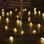 Solar Multi Function Blossom Fairy Lights