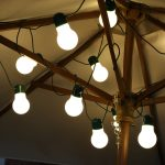 6m Solar Festoon Fairy Lights, 12 LEDs