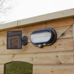 Super Solar Security Wall light with PIR, White LEDs