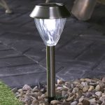 2PK D115 super solar dual power solar stake light