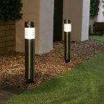 2 PK D76 super solar PIR bollard light,