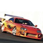 Junior Toyota Supra Driving