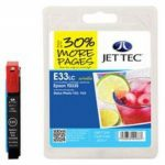 Epson T0335 Light Cyan Compatible Ink Cartridge by JetTec – E33LC