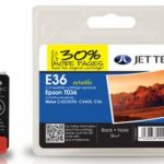 Epson T036 Black Compatible Ink Cartridge by JetTec – E36