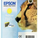 Genuine Yellow Epson T0714 Ink Cartridge – C13T07144010