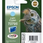 Genuine Light Cyan Epson T0795 Ink Cartridge – C13T07954010