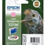Genuine Light Magenta Epson T0796 Ink Cartridge – C13T07964010