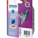 Genuine Cyan Epson T0802 Ink Cartridge – C13T08024010