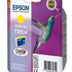 Genuine Yellow Epson T0804 Ink Cartridge – C13T08044010