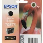Genuine Matte Black Epson T0878 Ink Cartridge – C13T08784010