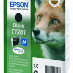 Genuine Black Epson T1281 Ink Cartridge – C13T12814010