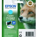 Genuine Cyan Epson T1282 Ink Cartridge – C13T12824010