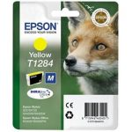 Genuine Yellow Epson T1284 Ink Cartridge – C13T12844010