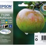 Genuine Multipack Epson T1295 Ink Cartridge – C13T12954010