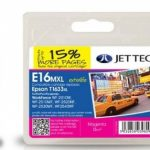 Epson T1633 Magenta Remanufactured Ink Cartridge by JetTec – E16MXL