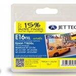Epson T1634 Yellow Remanufactured Ink Cartridge by JetTec – E16YXL