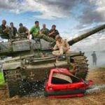 tank-driving-car-crush