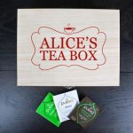 Personalised Tea Box With Name