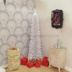 2m White Pine Pencil Christmas Tree