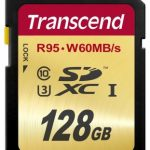 Transcend Ultimate Secure Digital SDXC Card UHS-1 U3 60MB/s – 128GB