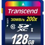 Transcend Premium Secure Digital SDXC Card Class 10 – 128GB