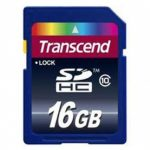 Transcend Secure Digital Card SDHC Class 10 – 16GB
