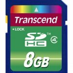Transcend Secure Digital Card SDHC Class 4 – 8GB
