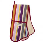 Iconic Stripe Double Oven Glove