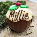 Personalised Chocolate Orange Christmas Pud