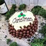 Personalised Large Chocolate Christmas Pud