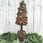 Personalised Choc Buttons Christmas Tree 35cm